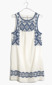 This stitchtake dress from Madewell is all things outdoorsy & sunshine! Grab it for $158.00 https://www.madewell.com/madewell_category/DRESSES/shiftdresses/PRDOVR~C5813/C5813.jsp?color_name=bright-ivory