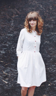 Easy breezy. We love this number for a more rustic couple who's wedding you're going to have a great time attending! Grab this from OFFOn on Etsy for $91.46 https://www.etsy.com/listing/236036439/ready-to-ship-dress-white-checkered?ref=related-2