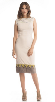 For an eco-friendly, natural outdoor wedding where you want to keep your sophisticated edge, grab this from Synergy Organic Clothing for $88.00 http://synergyclothing.com/triangle-lucy-dress-in-sand-dollar.html#.VX5oB1VViko